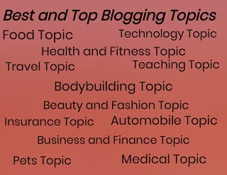 best blogging topics