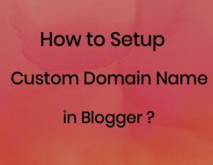 Setup custom domain