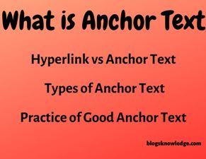 what is anchor text