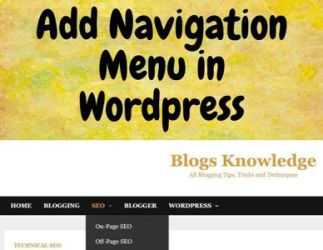 How to Add Navigation Menu in WordPress Themes