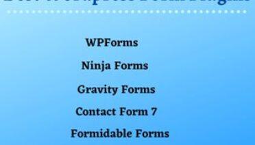 Top 5 WordPress Contact Form Plugins