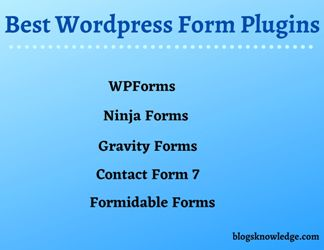 Top 5 WordPress Contact Form Plugins