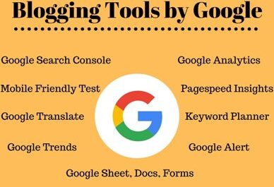 Blogging tools by google