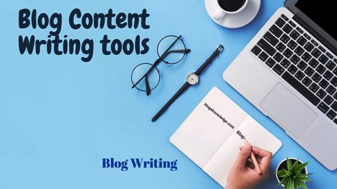 Blog content writing tools