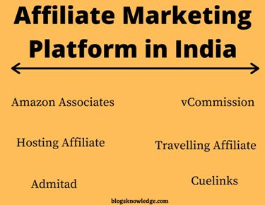 Which is the Best Affiliate Programs in India?