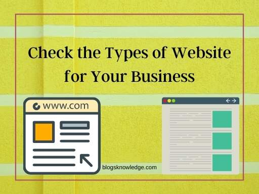 Types of Websites to Build – Find Best Site For Business