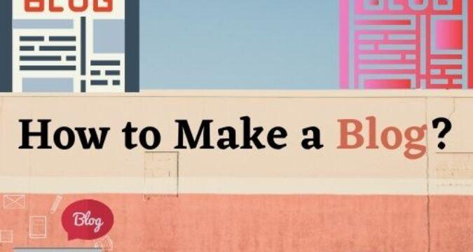How To Make A Special Blog?