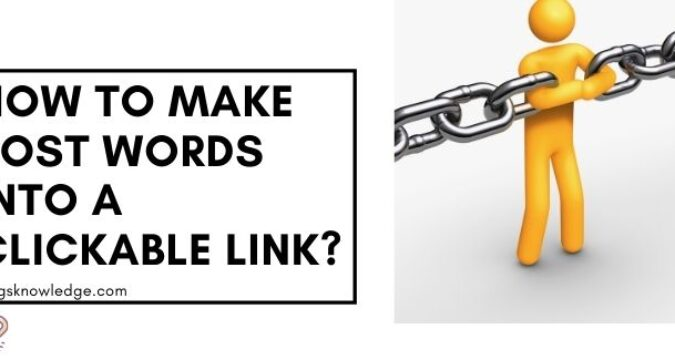 How to Make Post Words into a Clickable link?