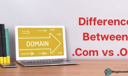 difference between .com vs .org