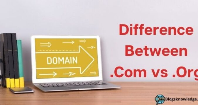 What are the Difference Between .Com vs .Org