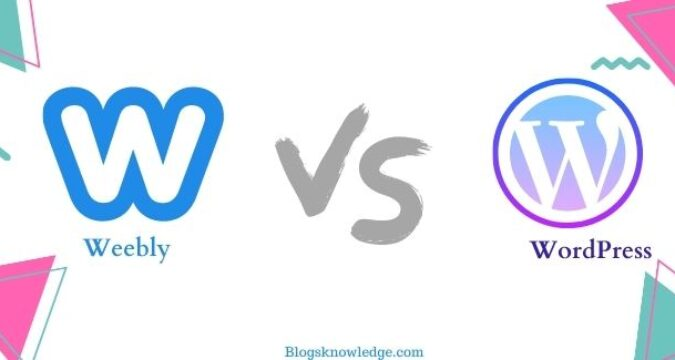 What is the Difference Between WordPress Vs Weebly