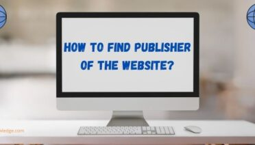 How to Find Publisher of the Website?